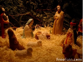 Nativity Scene, Photographer: Ian Britton