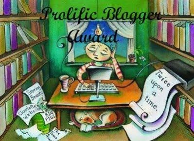 Prolific Blogger Award