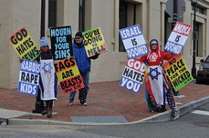 Westboro_Baptist Church protesters
