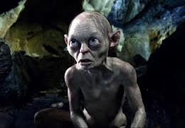 Gollum in The Hobbit movie
