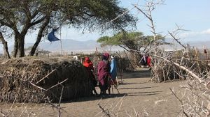 Maasai_Enkang_and_Hut