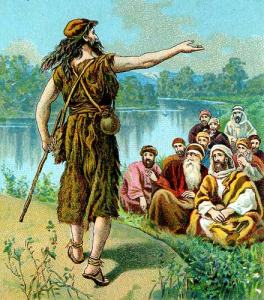 John the Baptist preaches that Christ is the life and light of men.