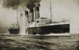 Torpedoed_Lusitania