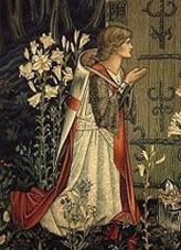 """""""The Achievement of the Grail"""" (1891-4) Tapestry by Edward Burne-Jones, Museum and Art Gallery of Birmingham"""