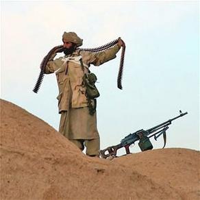 Afghan fighter