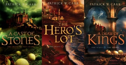 The Staff & The Sword trilogy covers