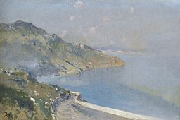 Painting of the Gulf of Smyrna