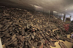 Shoes of victims of Auschwitz