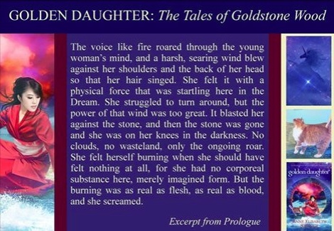 Golden Daughter excerpt