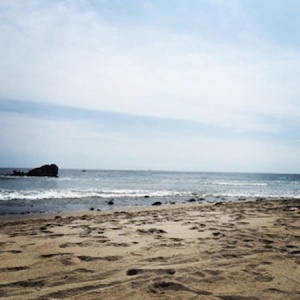 Ventura Beach (via Rachel Marks)