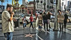 HollywoodStreetPreaching