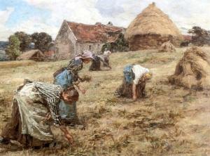 Painting_Lhermitte-Les_Glaneuses-1898