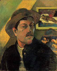 Paul Gauguin, Portrait de l'artiste au chapeau