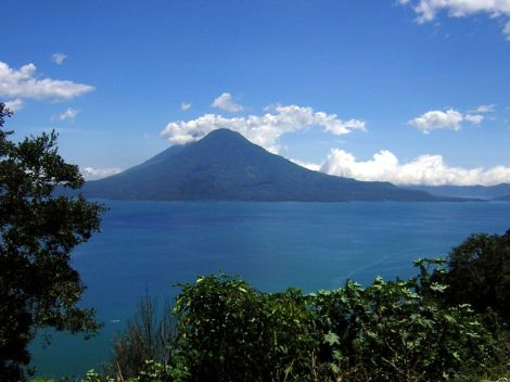 Lake Atitlán, Guatemala, an hour from the MK school where I taught